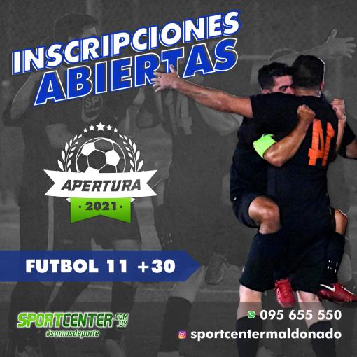 Fútbol 11 + 30